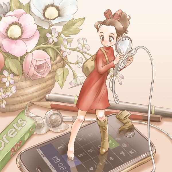 アリエッティ iphone カワラバン